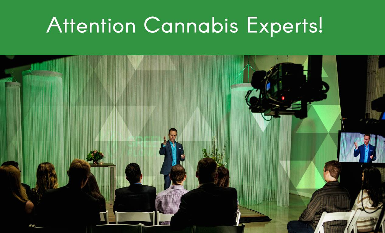 Attention Cannabis Experts: We're Looking For You!