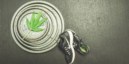 Adding cannabis to an active lifestyle can help weight management!
