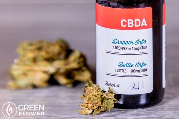 CBDA cannabis tincture