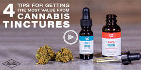 How to get the most out of cannabis tinctures