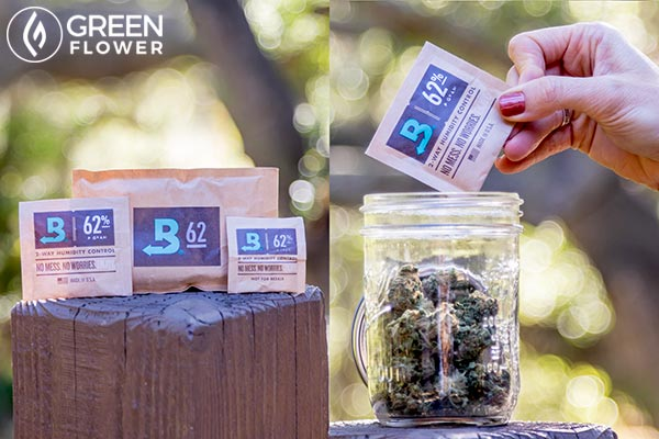 Cannabis and Boveda Packs