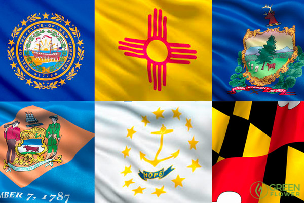 Various state flags
