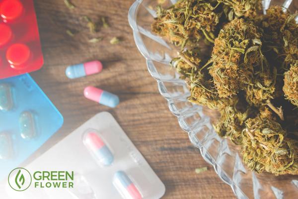 Pills versus cannabis