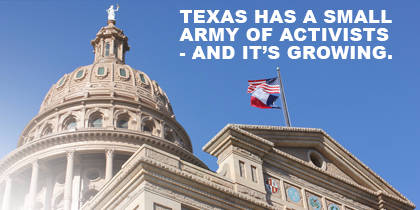 Texas Cannabis Activists Are an Inspiration to Activists Everywhere