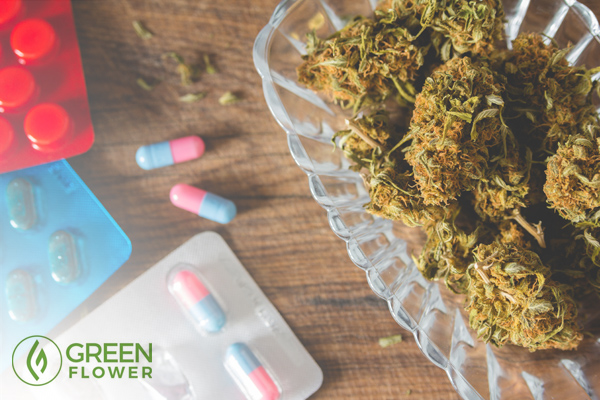 Cannabis versus pills