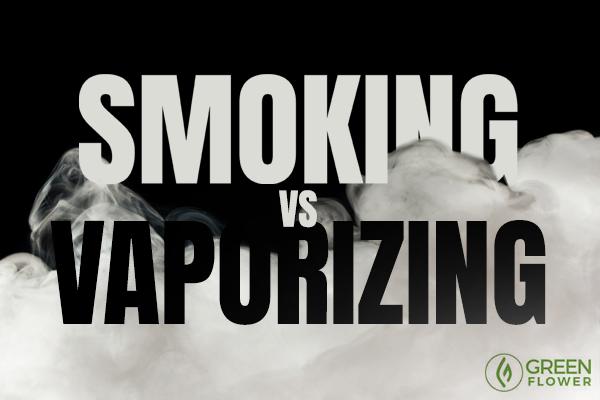 smoking vs vaping cannabis