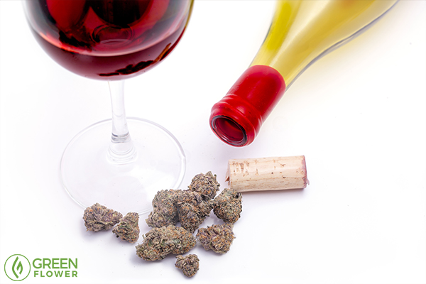 cannabis and wine