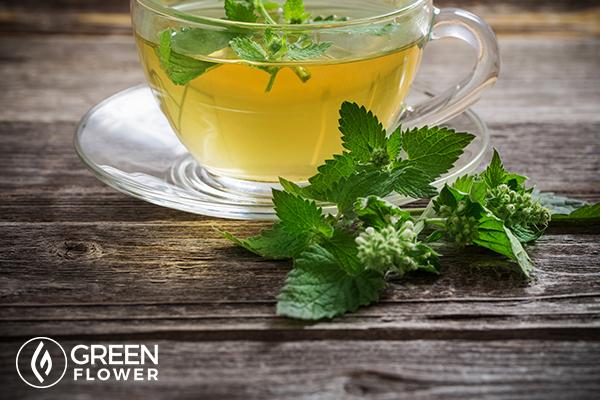 lemon tea herbs