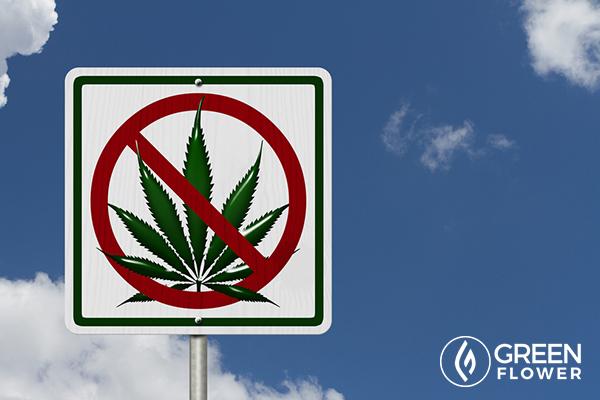 cannabis not allowed