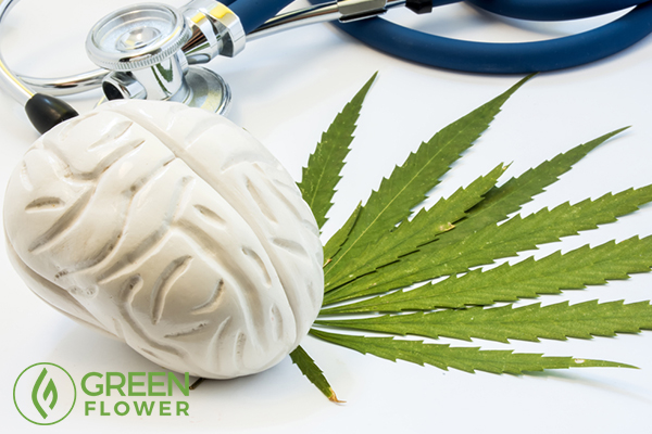 cannabis with stethoscope