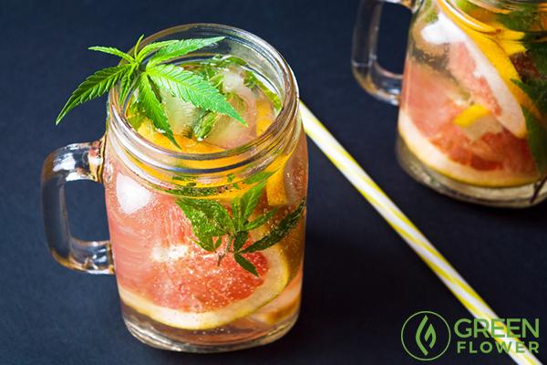 cannabis smoothie drink