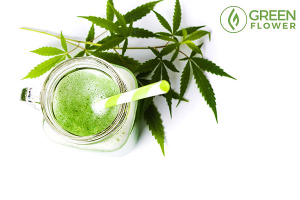 cannabis milk shake