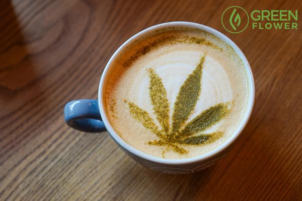 hot cannabis coffee