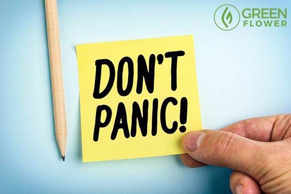 don't panic slip