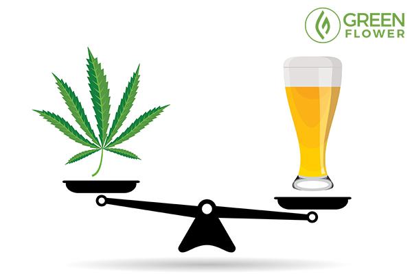cannabis vs alcohal