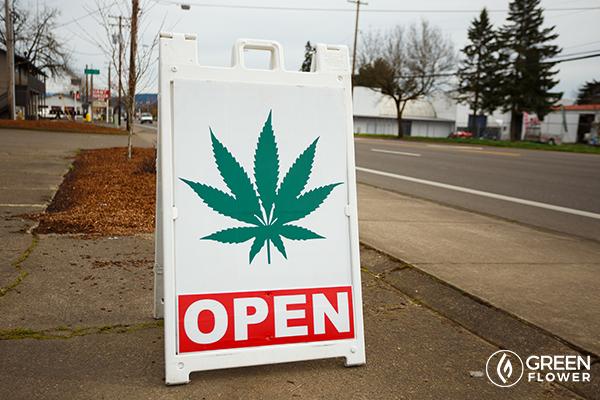 cannabis dispensary sign