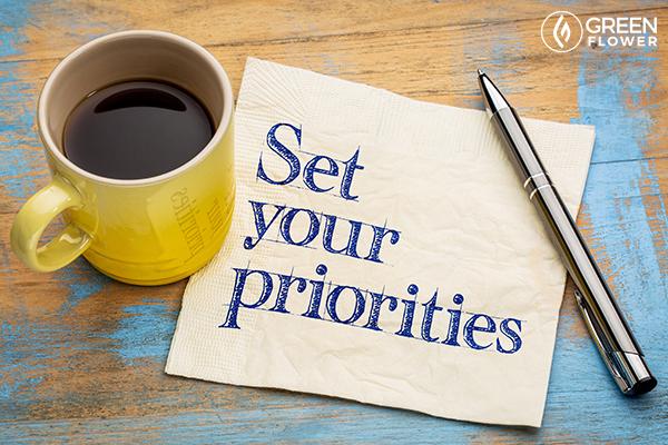 set your priorities